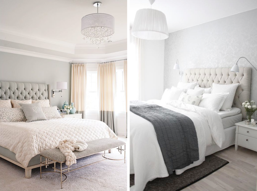 Image gallery light grey bedroom for Bedroom inspiration grey walls